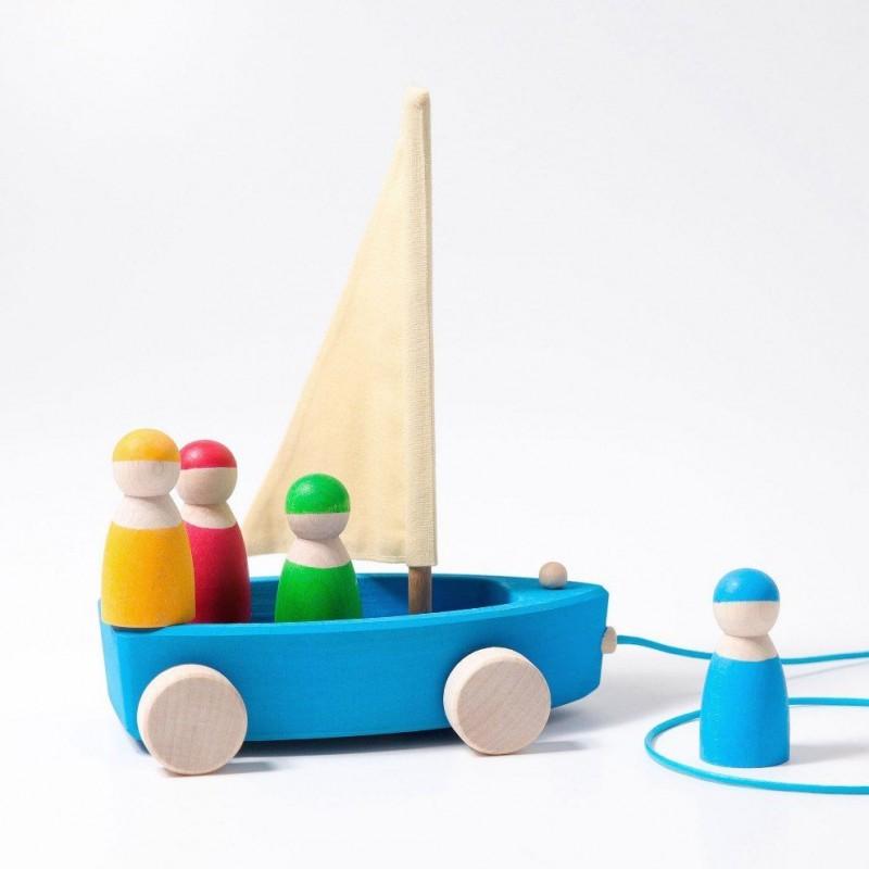 Barco de Puxar Grimm's