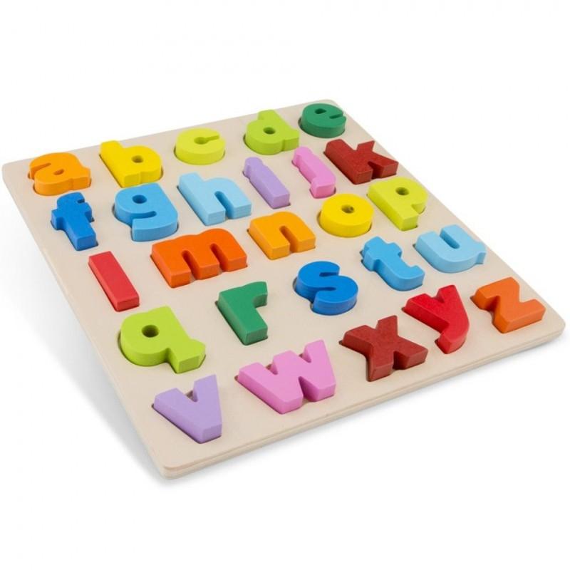 Puzzle Educativo Alfabeto Minúsculo