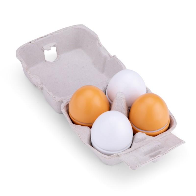 Caixa de 4 ovos para abrir