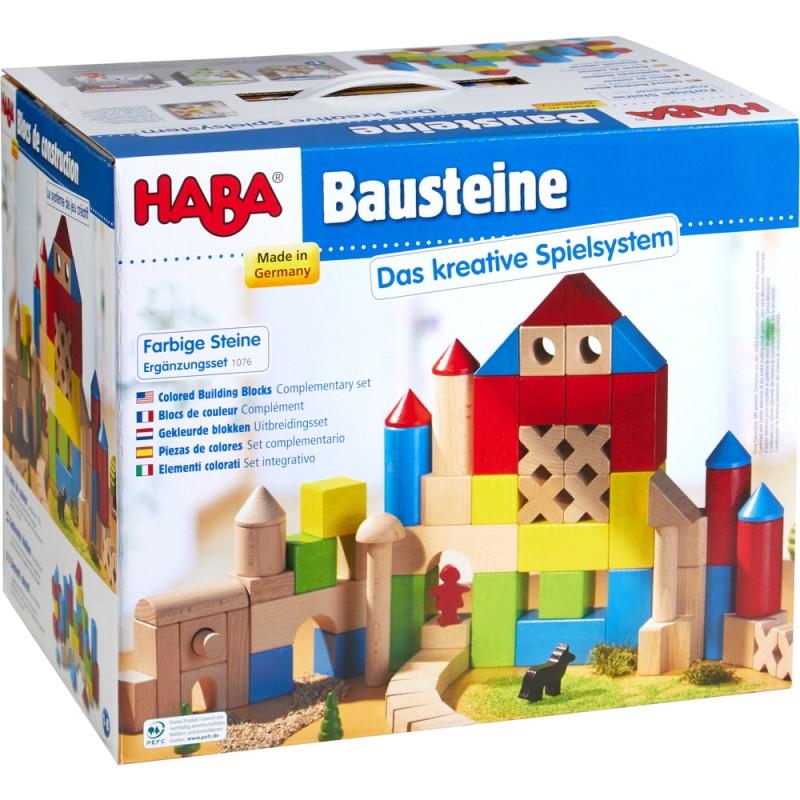 Construção Blocos Coloridos 30 peças