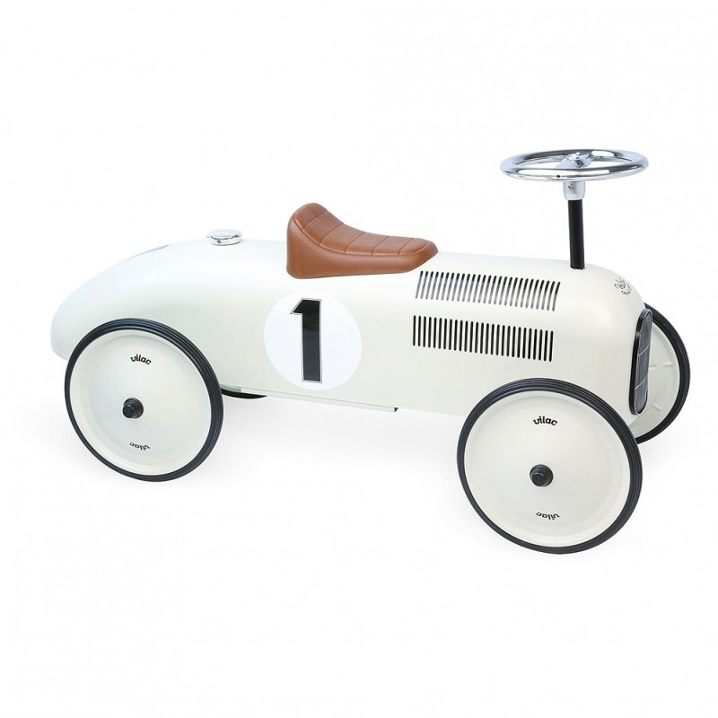 Carro de Pés Vintage Bege