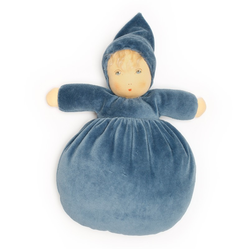Bebé Flor Bio Azul