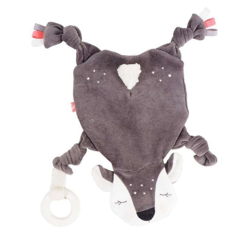 Doudou Bio Bambi com Actividades