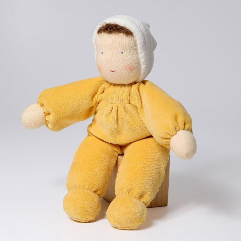 Boneco Waldorf Amarelo Grimm's