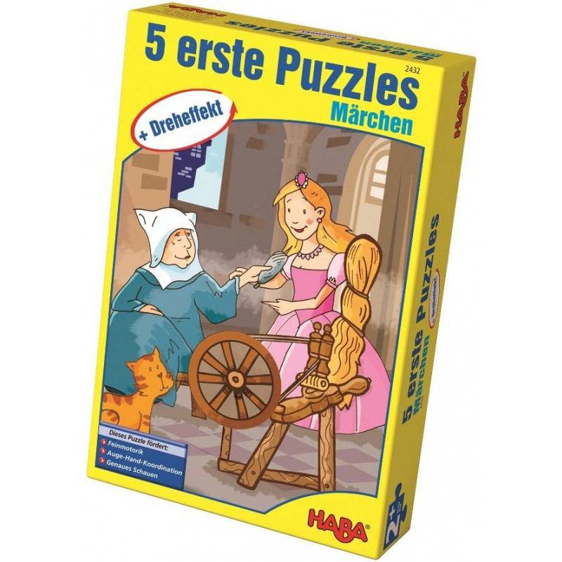 5 Puzzles Contos de Fadas