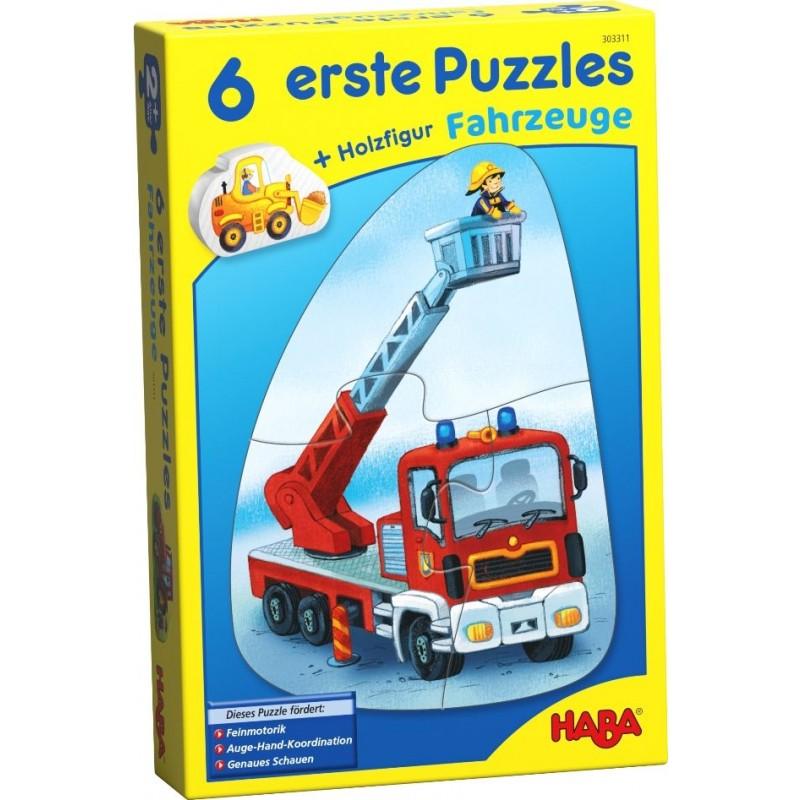 6 Puzzles Veículos