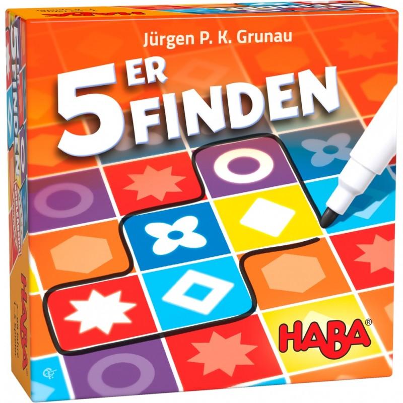Jogo Encontrar 5! 7+