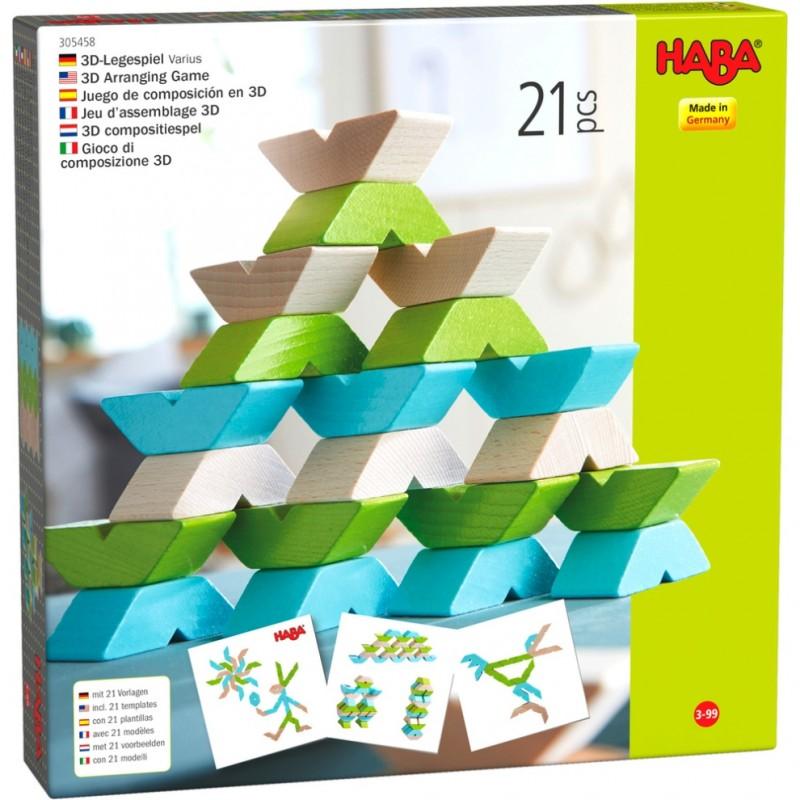 Varius Puzzle 3D