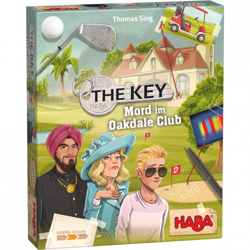 Jogo The Key - Oakdale Club 8+