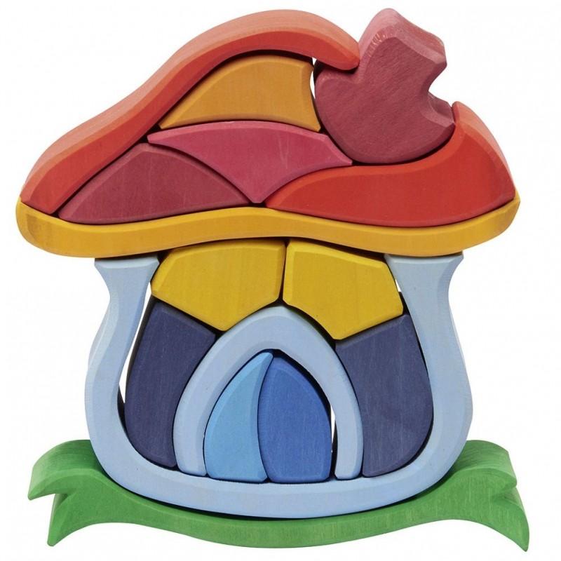 Casa Cogumelo de Encaixe