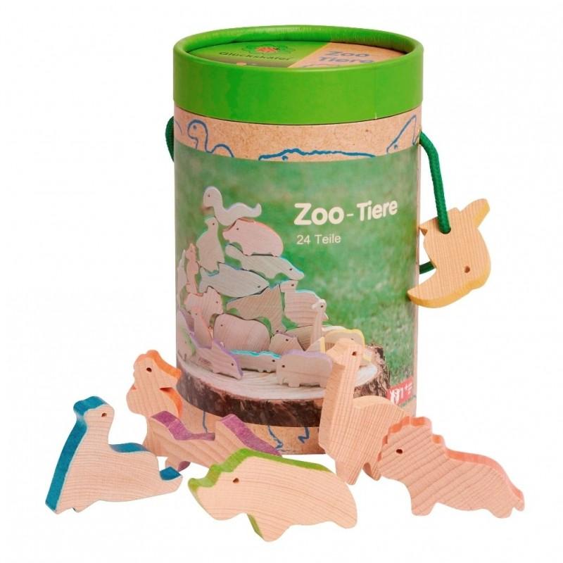 Conjunto de Animais do Zoo