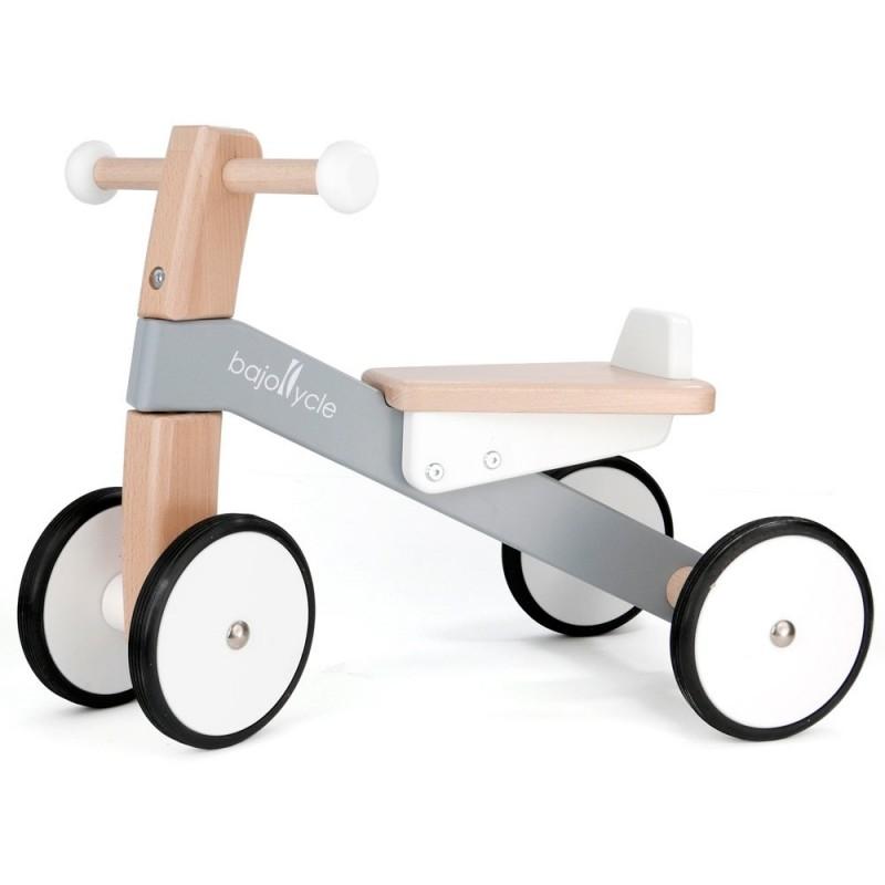 Triciclo de Pés Cinza Bajo