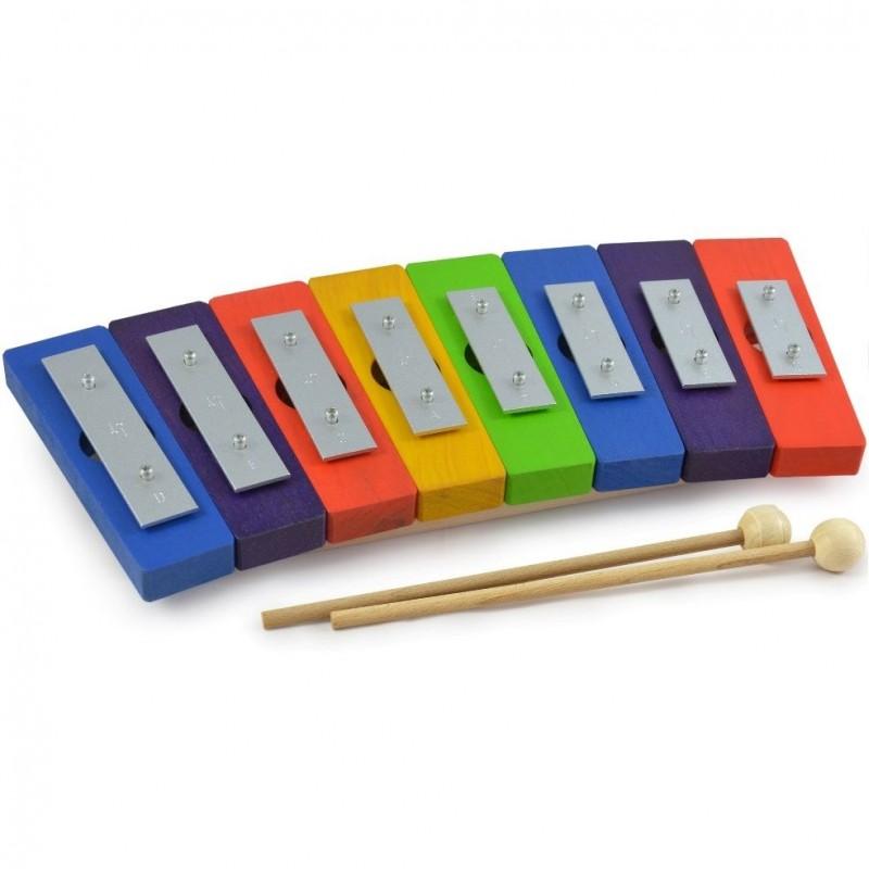 Metalofone Colorido Pentatónico
