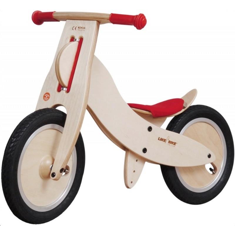 Bicicleta sem pedais Kokua Vermelha