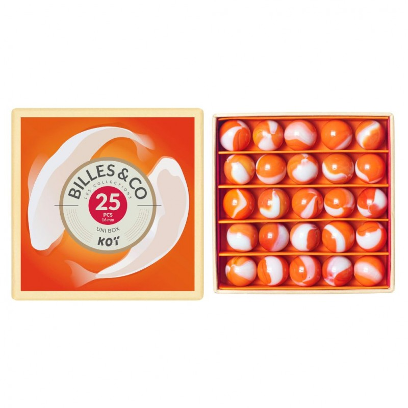 25 Billes&Co - Unibox KOÏ