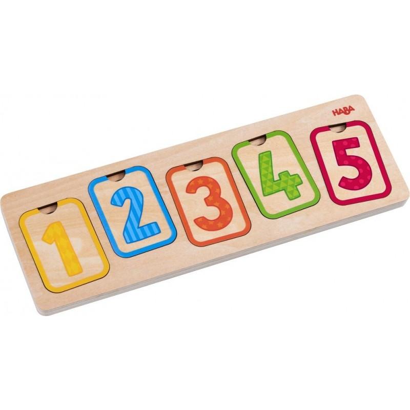 Puzzle de Camadas Números
