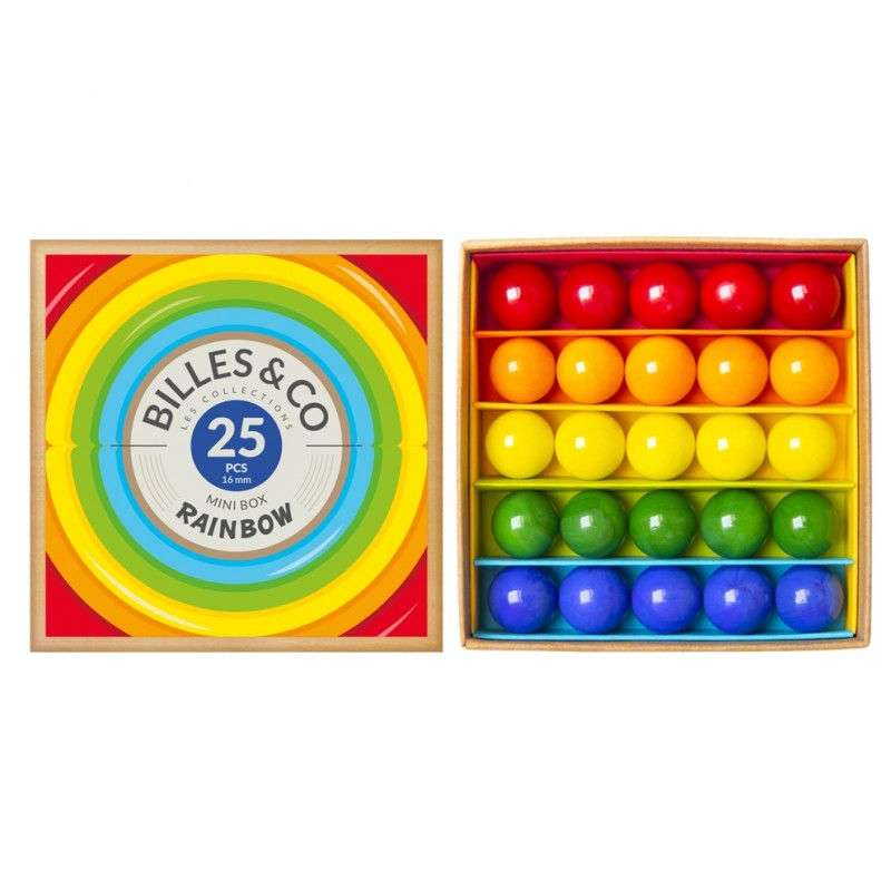 25 Billes&Co - Minibox Rainbow