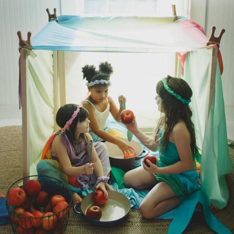 Playcloth Rainbow Sarah's Silks