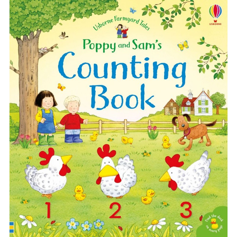 Poppy & Sam's Counting Book 3+