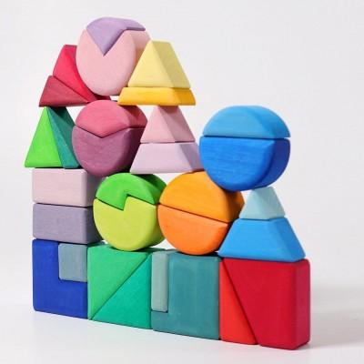 Triângulo, Quadrado e Círculo Grimm's