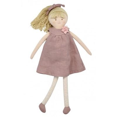Boneca Linen Pink 30cm