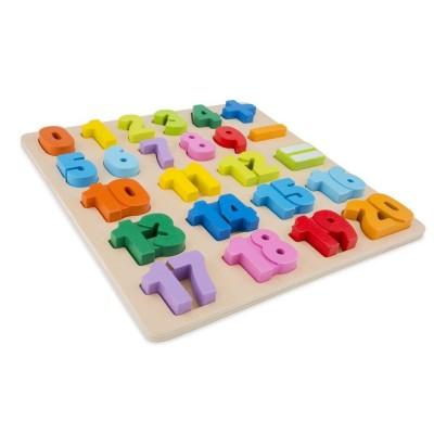 Puzzle Educativo Números