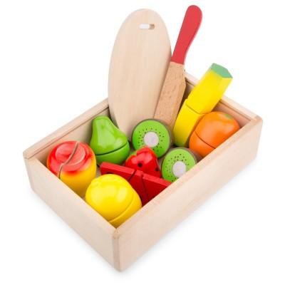 Caixa de Frutas para Cortar