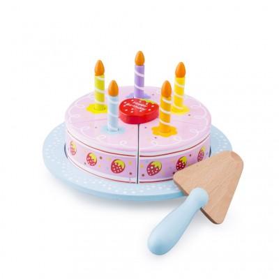 Bolo Happy Birthday para cortar