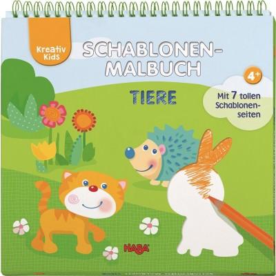Livro de Moldes para Colorir Animais