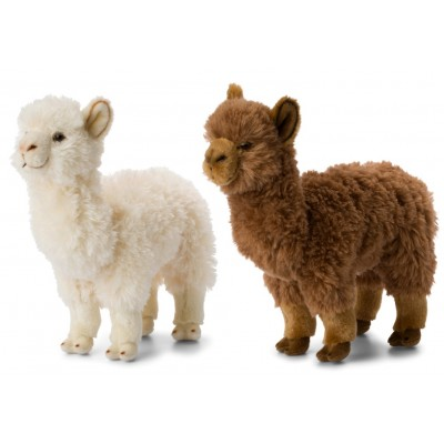 Lamas WWF Plush Collection