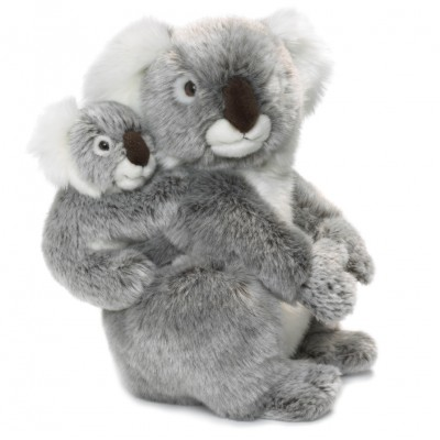 Koala com Bebé WWF Plush Collection
