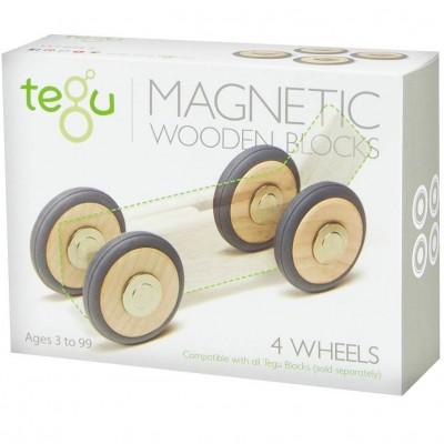 Tegu 4 Rodas Magnéticas extra