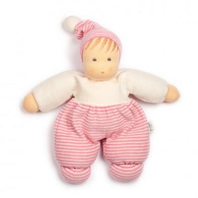 Bebé Mops Riscas Rosa