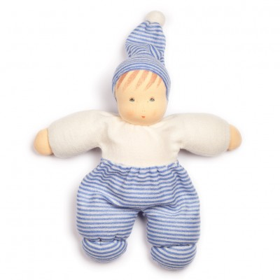 Bebé Mops Riscas Azul