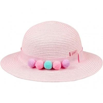 Chapéu Pompons Rosa