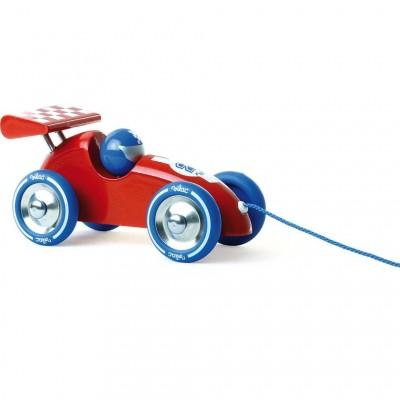 Carro Vermelho de Puxar