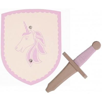 Mini Escudo e Espada Baby Isolde