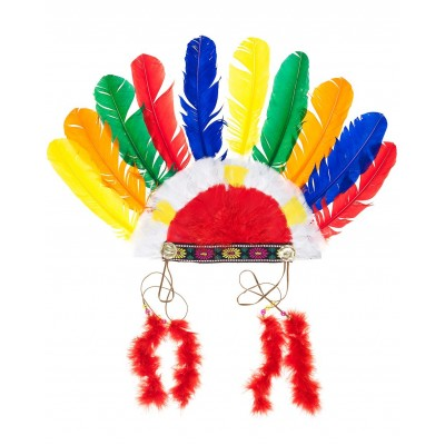 Plumas de Índio Multicor
