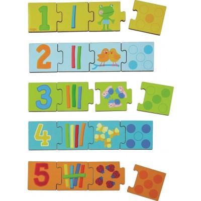 Puzzle Educativo Dominó dos Números