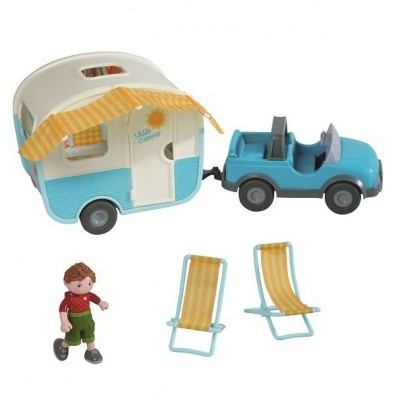 Carro e Caravana Little Friends
