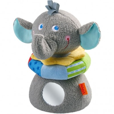 Elefante de Empilhar em Tecido