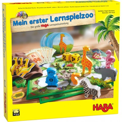 Colecção 10 Jogos Zoo Haba 3+