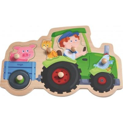 Puzzle de Pegas Tractor
