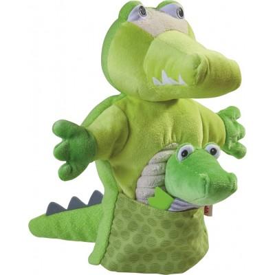 Fantoche Crocodilo com Bebé