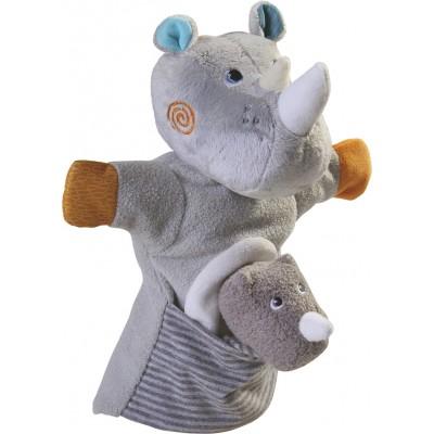 Fantoche Rinoceronte com Bebé