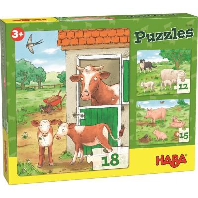 3 Puzzles Quinta (12, 15 e 18p.)