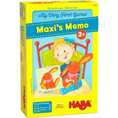 Jogo Memo do Maxi 2+