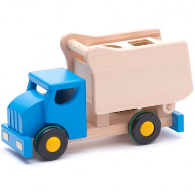 Camião Azul de Encaixes