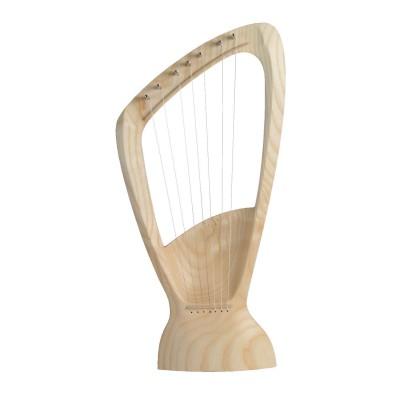 Harpa de 7 cordas Freixo