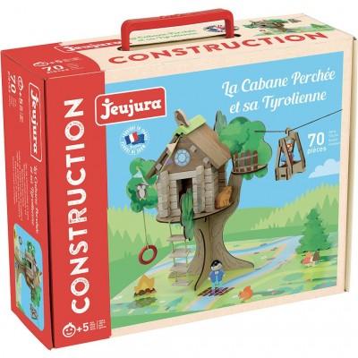 Construção Casa na Árvore e Teleférico